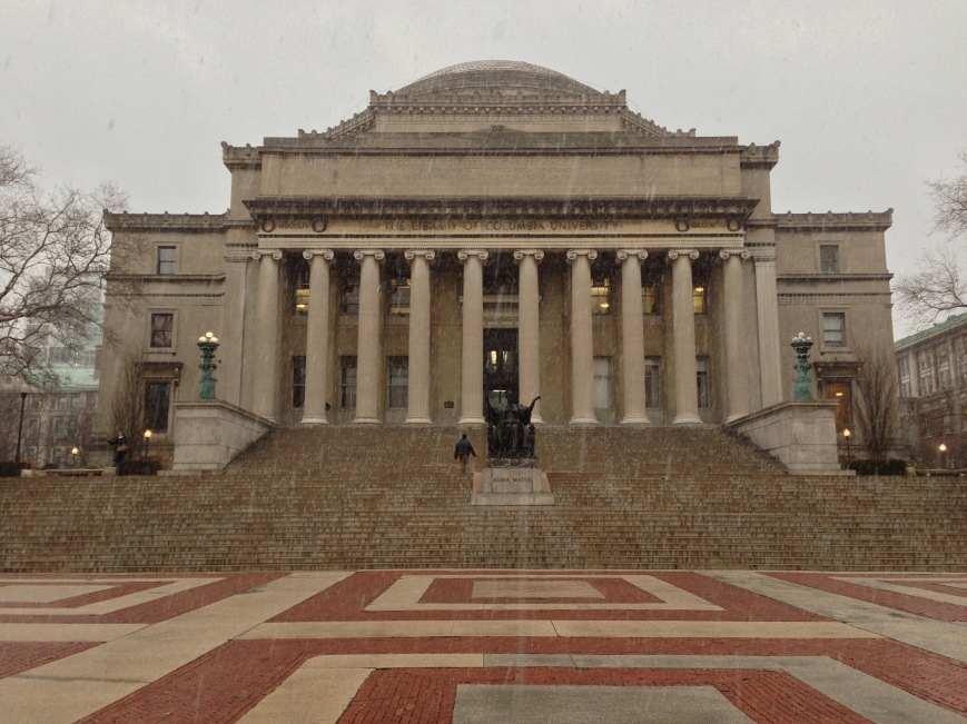 The Low Library at Columbia University. New York, NY. Wednesday, December 26, 2012, 3:01 PM EST.