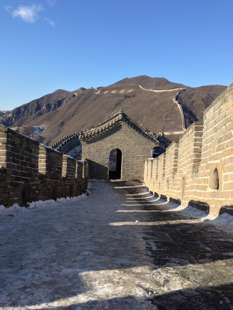 The Great Wall. Beijing, China. Sunday, December 30, 2012, 1:11 AM EST.